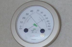 湿度は50%