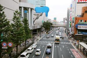 鎌倉街道側