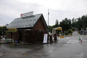 バスセンター駐車場入口