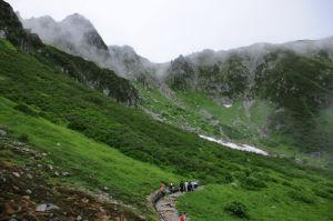 宝剣岳2931m