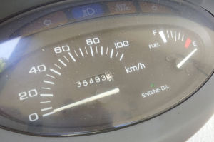 走行距離は35000Km