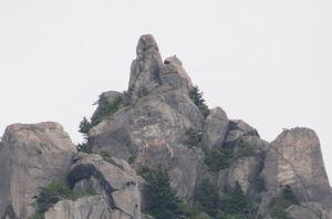 瑞牆山・十一面岩