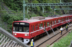 8両編成の特急電車
