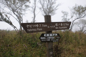 塔ノ岳0.7Km