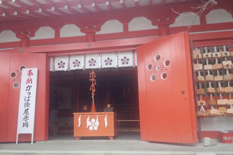 荏柄神社本殿