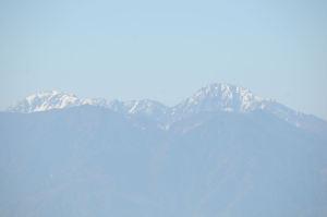 南アルプス鳳凰三山