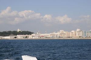 米軍横須賀基地内の施設