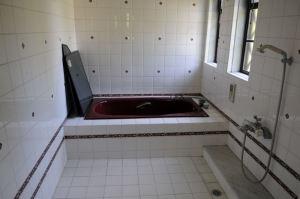 二階のバスルーム