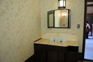 隣の部屋には洗面化粧台