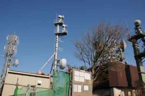 丹沢からもよく見えた電波塔