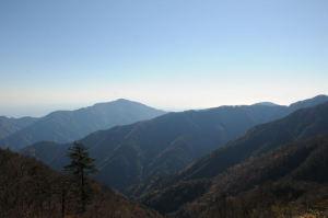 2週間前に登った大山