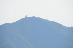 大山の電波塔