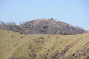 蛭ヶ岳山荘がみえています