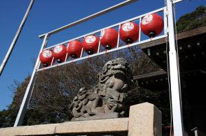狛犬は西叶神社と対になっているそうです