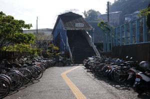 JR田浦駅東口