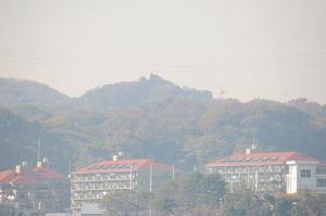 湘南鷹取山も見えています