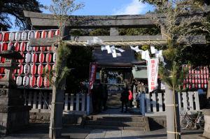 大晦日の瀬戸神社