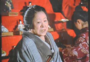 くに役の長岡輝子さん