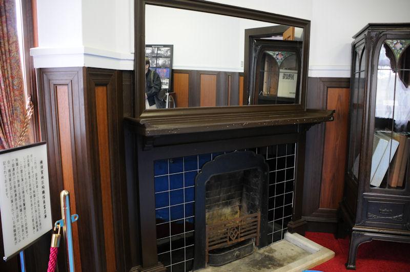 暖炉がありました