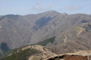 塔ノ岳(1491M)