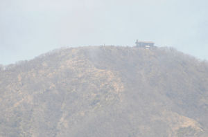 山頂の尊仏山荘