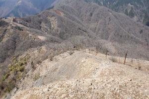 烏尾山へ向かいます
