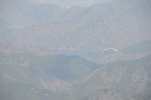 約10Km先の宮ヶ瀬湖
