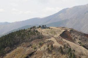 烏尾山荘が大分近くなってきました