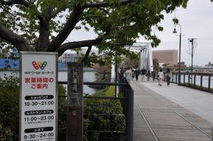横浜・汽車道から赤レンガ倉庫