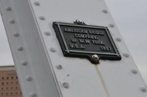 アメリカン・ブリッジ・カンパニー制作のプレート
