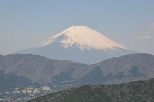富士山までの直線距離は約33Km