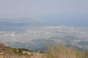 小田原市街がみえています