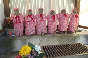 浅間神社の六地蔵