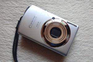 明星ヶ岳で拾ったカメラ
