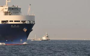 自動車専用運搬船「豊昇丸」