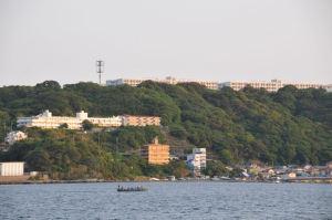 丘の上は防衛大学校