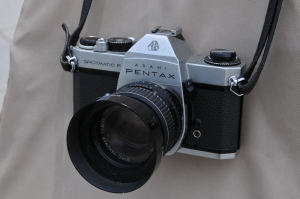 PENTAXのフイルムカメラ