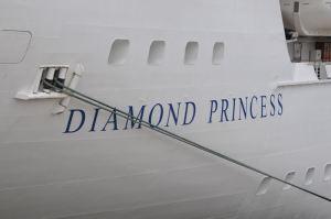 「DIAMOND PRINCESS」の船名