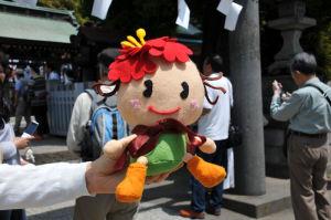 広報キャラクター「ぼたんちゃん」