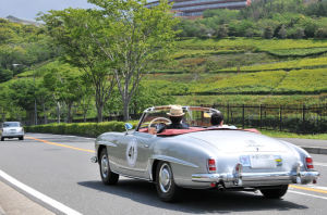 41番、MERCEDES BENZ 190SL
