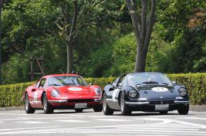 フェラーリが2台