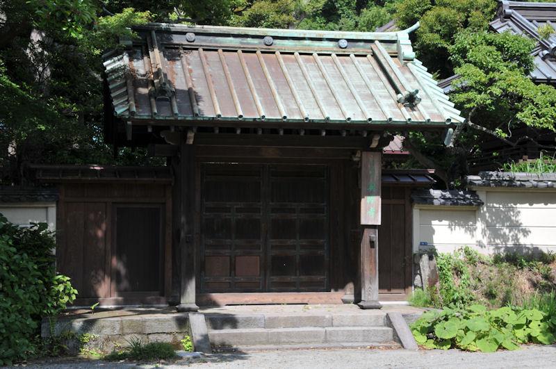 英勝寺の惣門