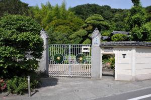 英勝寺の通用門