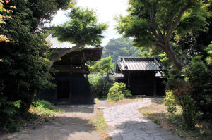 惣門の内側