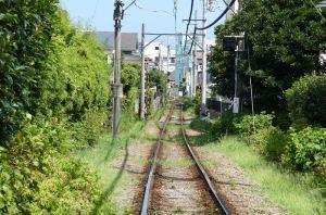 長谷駅方向
