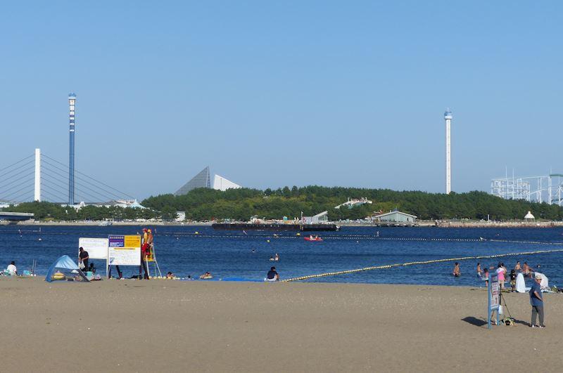 海の公園花火大会