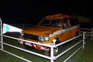 道路管理のパトロールカー