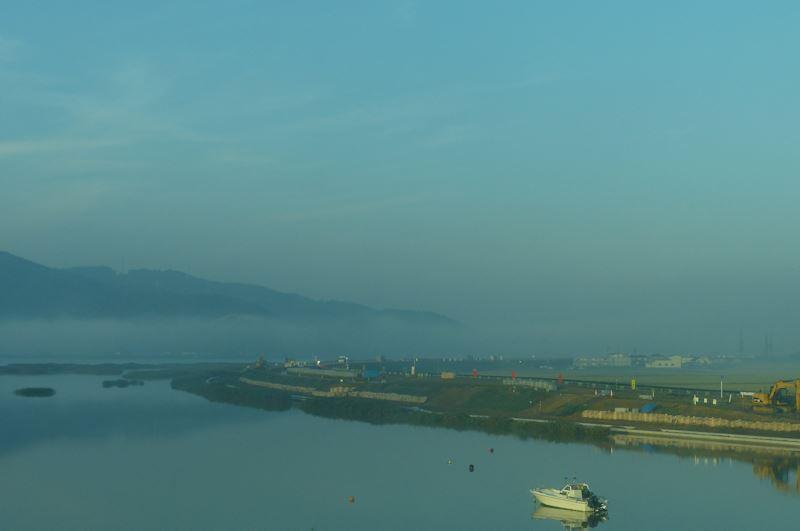 北上川の護岸工事