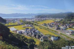 志津川中学校から見えた6年前の風景