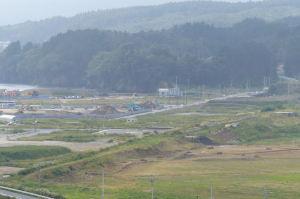 気仙沼線「志津川駅」の辺りでしょうか